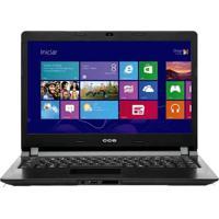 "Notebook Cce Ultra Thin U25B - Intel Celeron 1037U - Hd 500Gb - Ram 2Gb - Led 14"" - Windows 8"