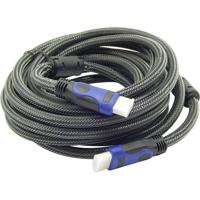 Cabo Hdmi 15 Metros 1.4 Ethernet Full Hd 3D 1080P Exbom 15 Mts
