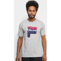 Camiseta Fila Sport Masculina - Masculino-Mescla