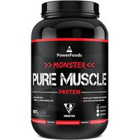 b2aa4536d8 Netshoes  Monster Pure Muscle Protein Powerfoods 907G - Unissex
