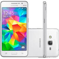 "Smartphone Samsung Galaxy Grand Prime G530H Duos - Branco - Dual-Chip - 8Mp - Tela 5"" - Android 4.4"