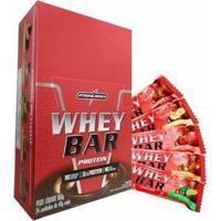 Barra De Proteína Whey Bar 24 Unidades - Integralmédica - Unissex