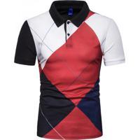 Camisa Polo Royal Clube - Vermelho Xg