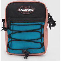 Bolsa Vans Street Ready Sport Crossbody Rosa/Verde