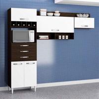 Cozinha Compacta Daniela 5 Pt Ravello E Branco