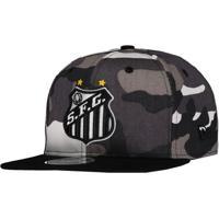 e9ae4c3e78dfd ... Futebol Aba Curva Snapback Preto New Era. Netshoes  Boné New Era Santos  950 Masculino - Masculino