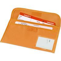 Porta Documentos De Viagem / Voucher Topget Laranja