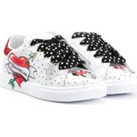 Monnalisa Minnie Mouse Low Top Sneakers - Branco