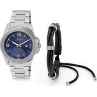 Kit Relógio Masculino Condor Co2115Xek3A