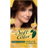 Tintura Wella Soft Color Kit Creme Sem Amônia Cor 50 Castanho Claro