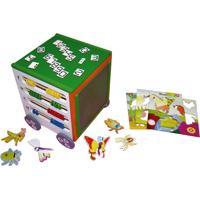 Carrinho De Atividades Carlu Brinquedos Colorido