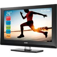 Tv Cce Lcd Digital L244 - Preto - Tela 24""