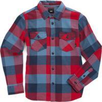 Camiseta Infantil Box Flannel