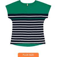 Blusa Malha Mvs Thirty Plus Verde