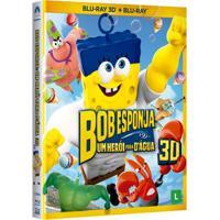 Blu-Ray 3D - Bob Esponja O Filme - Um Herói Fora D'Água - Paramount