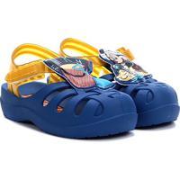 Sandália Infantil Grendene Kids Disney Sunny Baby - Feminino-Azul