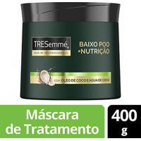 Máscara De Tratamento Tresemme Baixo Poo Nutricao 400G - Feminino-Incolor