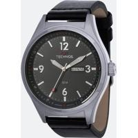 Kit Relógio Masculino Technos 2105Ay/K0C Analógico 5Atm + Canivete