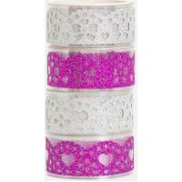 Kit Fitas Adesivas Vazadas E Com Glitter | Accessories | Multicores | U