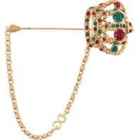 Dolce & Gabbana Broche 'Crown' - Dourado