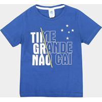 Camiseta Cruzeiro Infantil Time Grande - Masculino