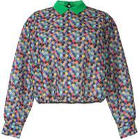 Kolor Blusa Color Block - Estampado