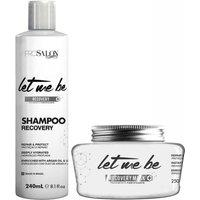Let Me Be Kit Recovery Mask And Shampoo Tratamento Fortificante