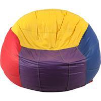 Puff Infantil Big Ball Vôlei De Praia Corino Colorido