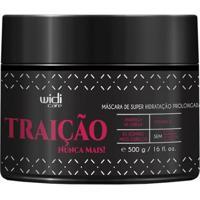 Widi Care Traição Nunca Mais - Máscara De Super Hidratação 500G - Unissex-Incolor
