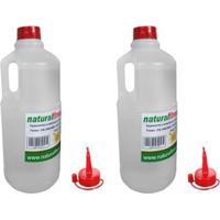 Kit 2 Litros Silicone Liquido Para Lubrificar Esteiras - Unissex