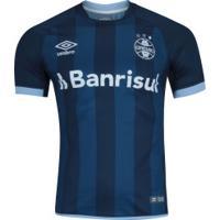 Camisa Do Grêmio Iii 2017 Nº 10 Umbro - Masculina - Azul Esc/Azul