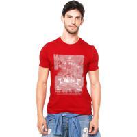 Camiseta Rgx Rum Punch Vermelha