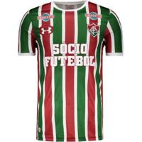 Camisa Under Armour Fluminense I 2017 Com Patrocínio - Masculino