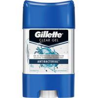 Desodorante Gillette Antitranspirante Clear Gel Antibacterial 82G
