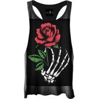 Regata Cavada Skull Roses