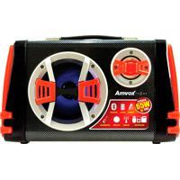 Caixa De Som Amplificadora Portátil Amvox De 65W Rms Com Bluetooth.