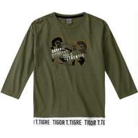 Camiseta Verde Menino