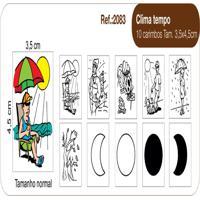 Carimbos Pedagógicos Clima Tempo - Fundamental - Kanui