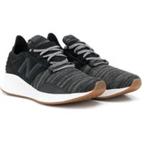 New Balance Kids Knitted Detail Sneakers - Preto