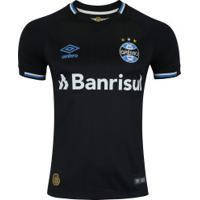 Camisa Do Grêmio Iii 2018 Umbro - Masculina - Preto/Azul