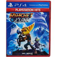 Jogo Ps4 - Ratchet E Clank Hits - Playstation Hits - Sony