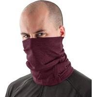 Bandana Tube Neck Proteção De Pescoço Uv50+ Slim Fitness - Masculino-Vinho