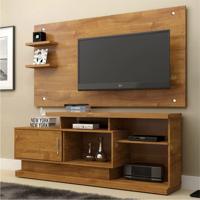 Rack Com Painel Para Tv 47 Polegadas Camaçari Caramelo 156 Cm