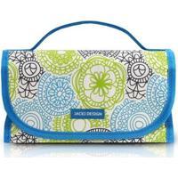 Necessaire Jacki Design My Lolla Rocambole Feminina - Feminino-Azul