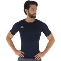 Camisa Térmica Kappa Embrace - Masculina - Azul Escuro
