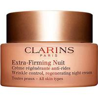 Anti-Idade Clarins Extra Firming Night Cream All Skin Types 50Ml - Feminino-Incolor