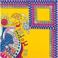 La Doublej Lenço Quadrado Demeter - Amarelo