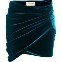 Alexandre Vauthier Minissaia Envelope - Azul