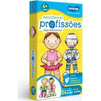 Jogo Educativo - Escolhendo Profissões - 24 Peças - Toyster