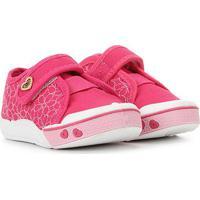 Tênis Infantil Klin Toy Velcro Feminino - Feminino-Pink